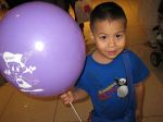 I Love Big Purple Balloons