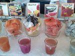 Fresh Fruit Juice for the Breakfast Buffet