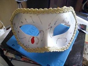 Front View Of The Mask