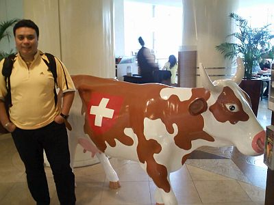 Swiss Army Cow! *The one on the right ok!*