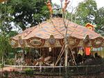 Upcoming Carousel At The Children's Park/World