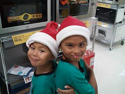 Santa Babes...