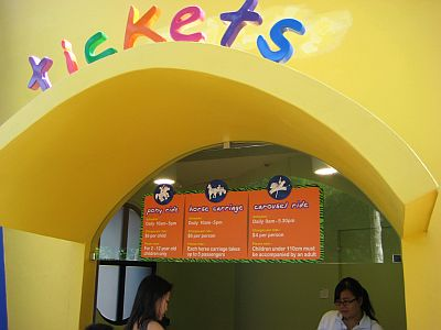 Ticket Booth For Some Rides