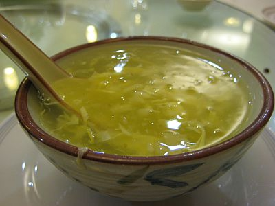 Water Chestnut Cream With A Tinge of Zesty Lemon