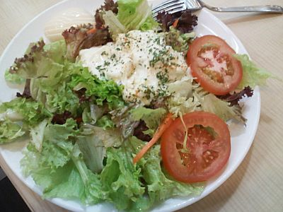 My Egg Mayo Salad Only $4.50
