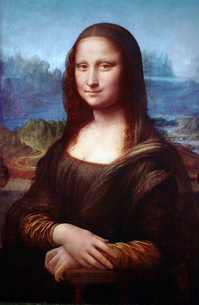 Mona Lisa ( Original Colours )