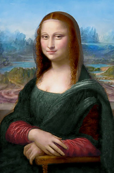 Mona Lisa ( Digitally Restored )