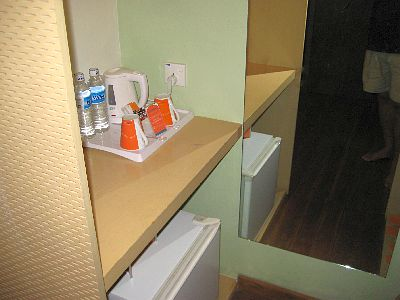 MiniBar and Electric kettle and Hot Drink Area