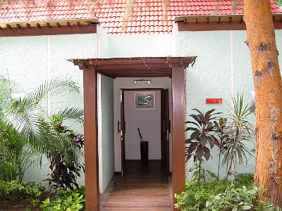 Entrance To Our Cabana Room On The Left