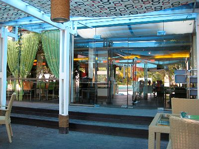 The Inside Seating Area Of The Cafe Where we had lunch